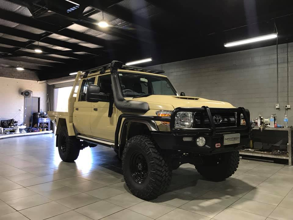 Toyota Landcruiser Custom ECU Remap perth